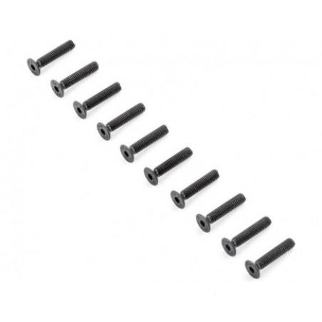 Flat Head Screws, M4x20mm (10)