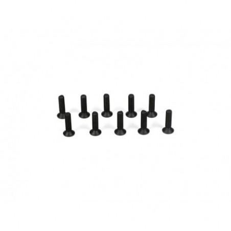 Flathead Screws, M3 x 12mm...