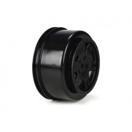 Wheel, Black (2): 22SCT