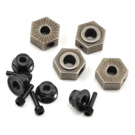 Wheel Hex, Pins & Serrated...