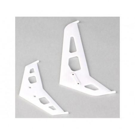 Stabilizer/Fin Set, White:...