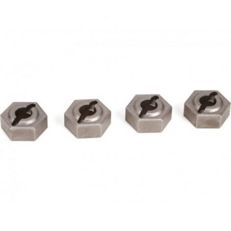 12mm Hex Set, Metal Twin...