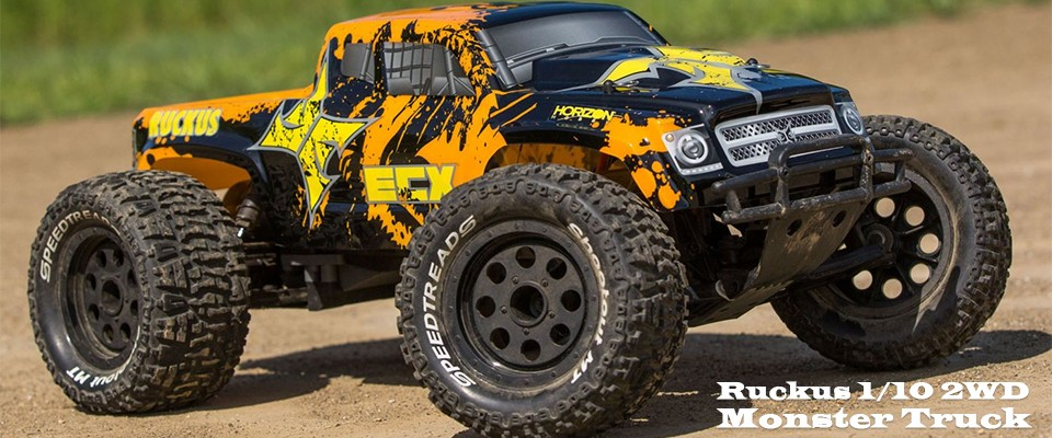 Ruckus 2WD Monster Truck BD RTR