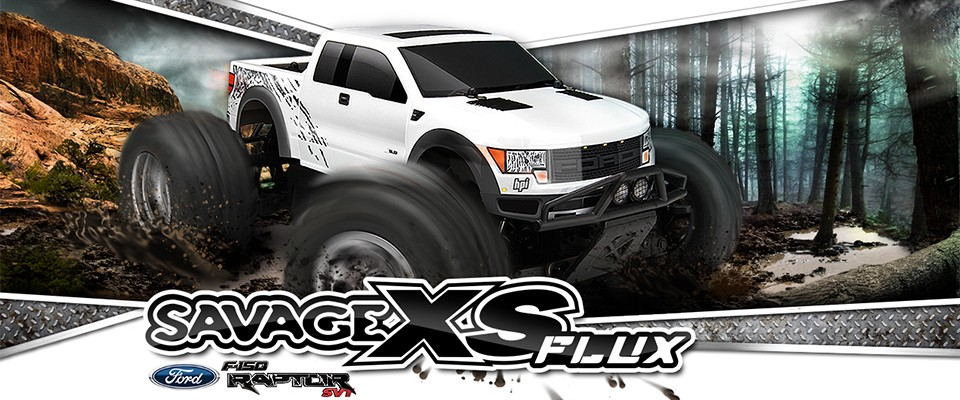Savage XS Flux RTR with Ford SVT Raptor