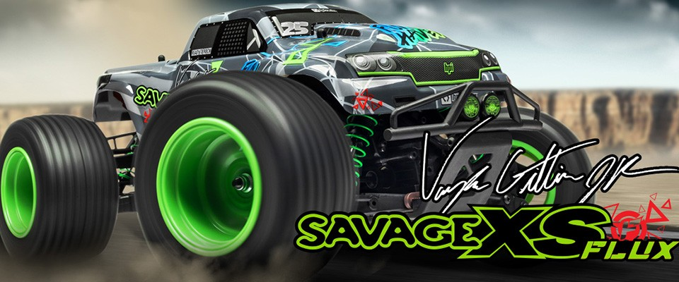 Savage XS Flux RTR Vaughn Gittin JR